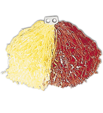 POM POM SINGLE - RED/YELLOW