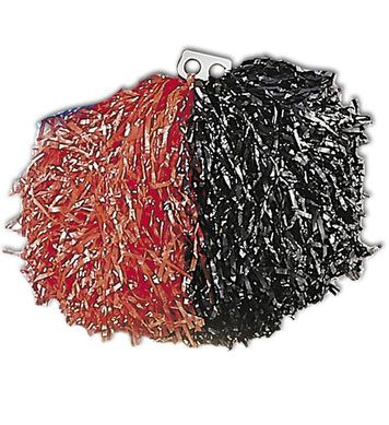 POM POM SINGLE - RED/BLACK