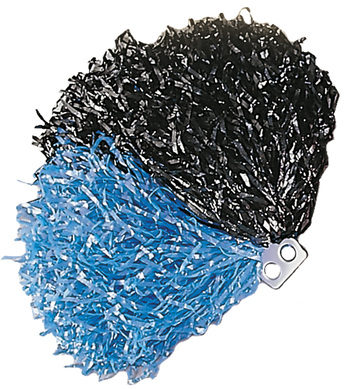 POM POM SINGLE - BLACK/BLUE