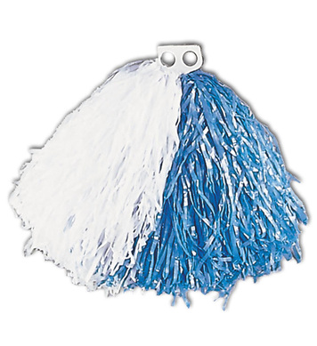 POM POM SINGLE - BLUE/WHITE