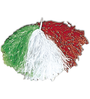 POM POM GREEN WHITE RED