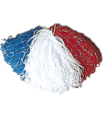 POM POM SINGLE - RED WHITE BLUE UK