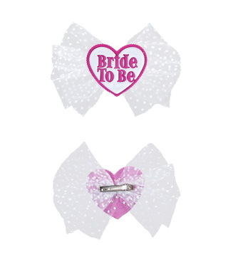 BRIDE TO BE HAIR CLIP