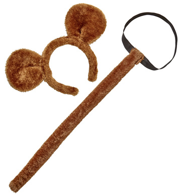 MONKEY (ears, tail)