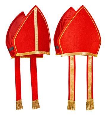 CARDINAL HAT RED VELVET