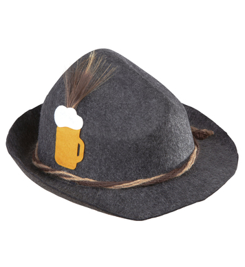 BAVARIAN HAT FELT - GREY