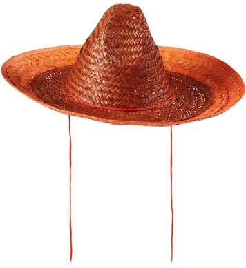 SOMBRERO 48cm - ORANGE