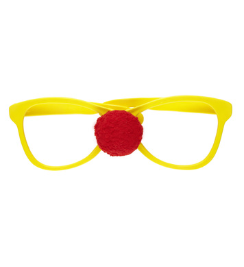 GIANT GLASSES WITH CLOWN NOSE