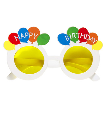 HAPPY BIRTHDAY BALLOON GLASSES