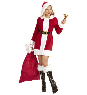 SANTA CLAUS LADY (hooded dress belt)