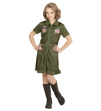 FIGHTER JET PILOT GIRL Childrens