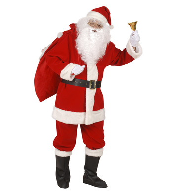 PROFESSIONAL SANTA SUIT (jacket pants belt hat b-covers