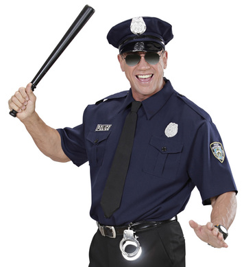 NYPD POLICE OFFICER (shirt tie hat)
