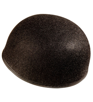 FELT PIERROT HAT BLACK PLAIN FELT