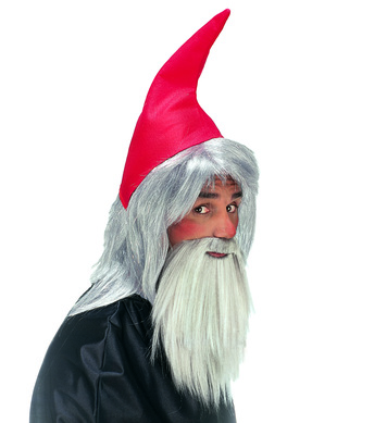 GNOME RED HAT AND BEARD