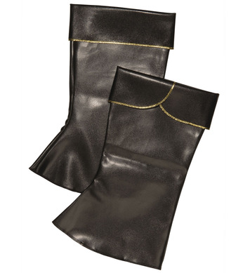 BOOT TOPS LEATHERLOOK