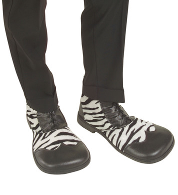 PARTY SHOES - ZEBRA