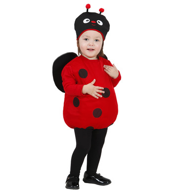 LADYBUG (puffy vest headpiece wings) Childrens
