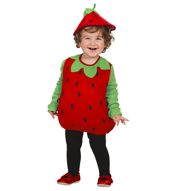 STRAWBERRY (puffy vest & headpiece) Childrens