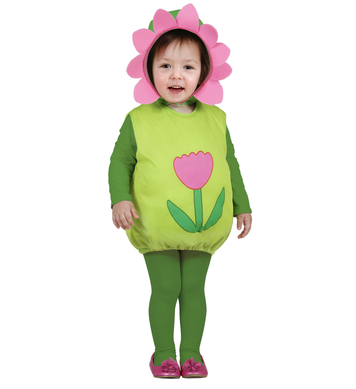 FLOWER (puffy vest & headpiece) Childrens