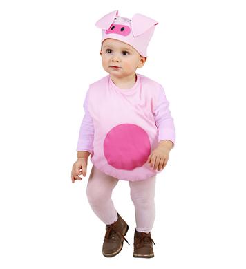 PIG (puffy vest & headpiece) Childrens