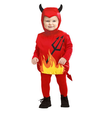 DEVIL (puffy vest & headpiece) Childrens