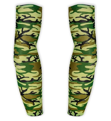 CAMOUFLAGE TATTOO SLEEVES - PAIR