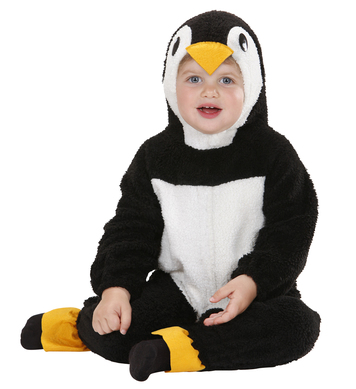 FUZZY PENGUIN BABY (80cm/92cm) (hooded jumpsuit)
