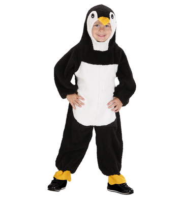 FUZZY PENGUIN TODDLER (hooded jumpsuit) Childrens