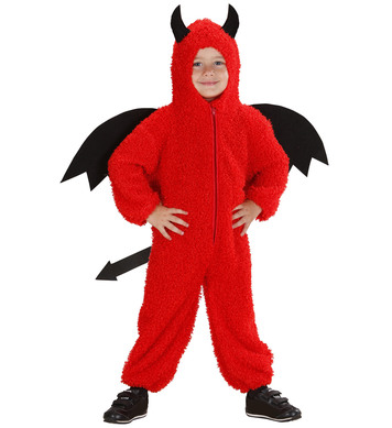 FUZZY DEVIL TODDLER (hooded jumpsuit) Childrens