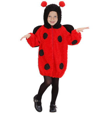 FUZZY LADYBUG TODDLER (hooded jumpsuit) Childrens
