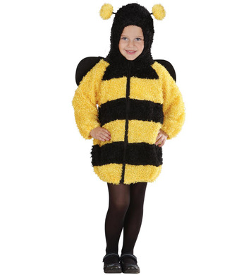 FUZZY BEE TODDLER (hooded jumpsuit) Childrens