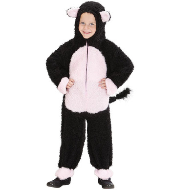 FUZZY CAT TODDLER (hooded jumpsuit) Childrens