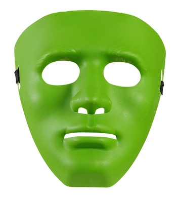 ANONYMOUS MASK - GREEN