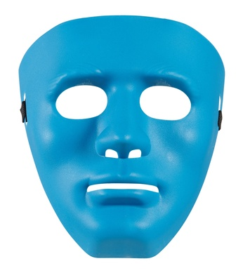 ANONYMOUS MASK - BLUE
