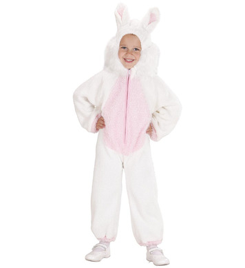 FUZZY BUNNY TODDLER (hooded jumpsuit) Childrens