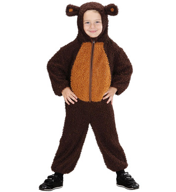 FUZZY BEAR TODDLER 104cm (hooded jumpsuit)