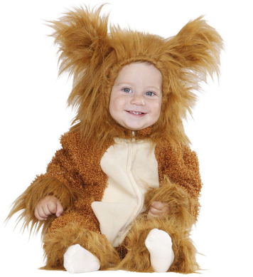 FUZZY LION BABY (80cm/92cm) (hooded jumpsuit)