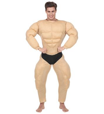 BODYBUILDER (muscle overalls w/slip)
