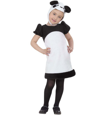 PANDA COSTUME (2-3yrs/3-4yrs) (dress headpiece)