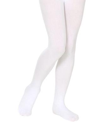 PANTYHOSE CHILD SIZES - WHITE