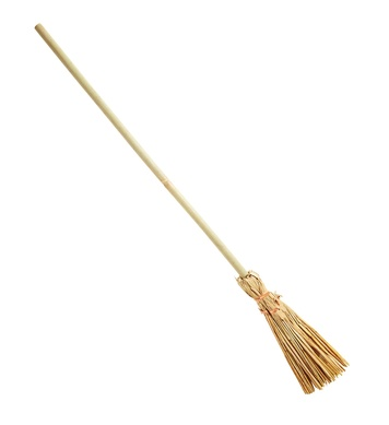 OLD WITCH BROOM 107cm