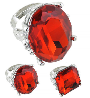 JUMBO RING RED DELUXE - 3 styles