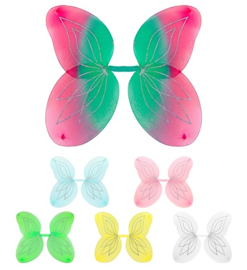 FAIRY WINGS GLITTER - 47x55cm approx **See 86411/2/3/4/5/6