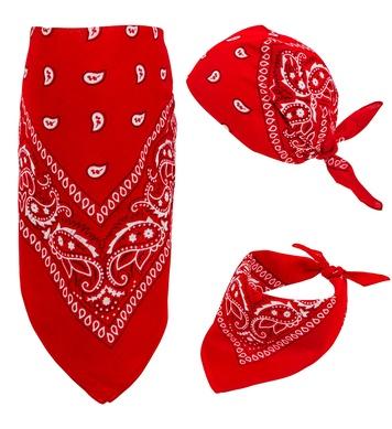 RED BANDANA 55cm