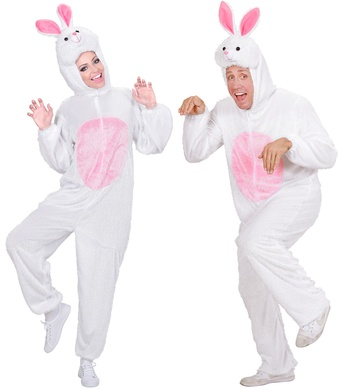 PLUSH BUNNY (hooded jumpsuit with mask)