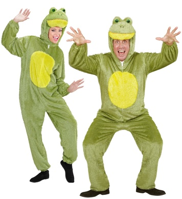 PLUSH FROG (hooded jumpsuit with mask)