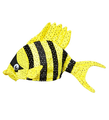 TROPICAL FISH HAT - YELLOW