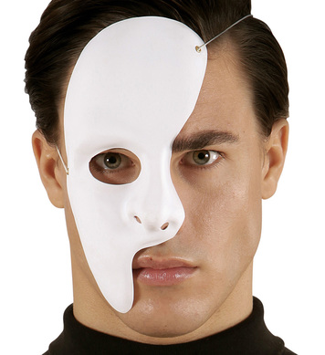 DELUXE PHANTOM HALF FACE MASK