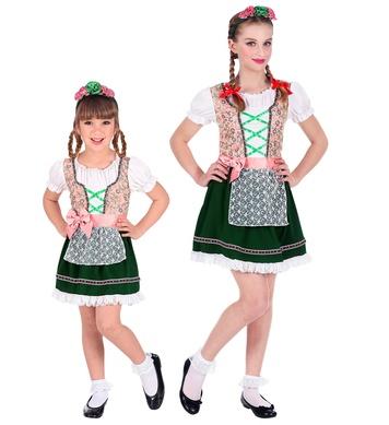 BAVARIAN (dress, headpiece) Childrens